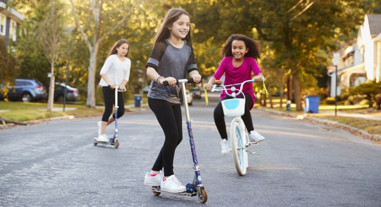 kids bikes scooters